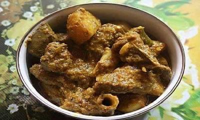 ধাবা স্টাইলে স্মোকি মাটন