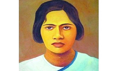 প্রীতিলতা ওয়াদ্দেদার -ব্রিটিশ বিরোধী স্বাধীনতা আন্দোলকারী নারী