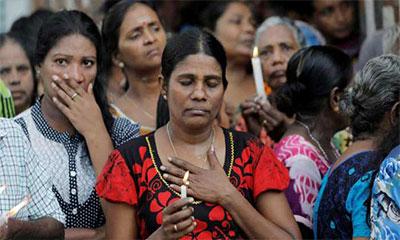 শ্রীলংকায় তিন মিনিট নীরবতা পালন, চলছে জাতীয় শোক