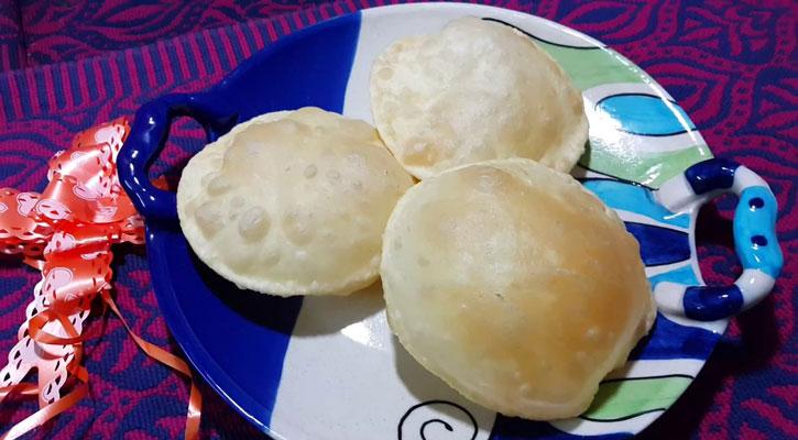 সুস্বাদু লুচি