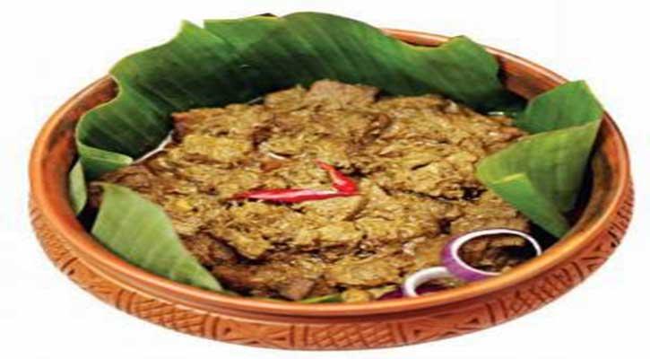 সরিষা-মাংস ভুনা