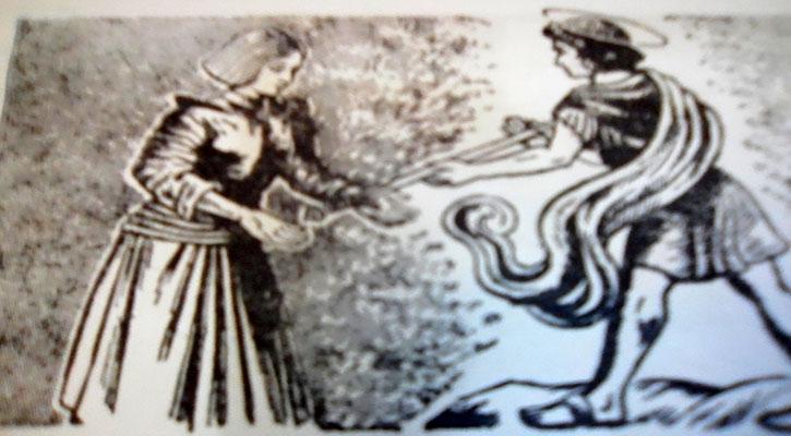 ফ্রান্সের প্রেরণাদাত্রী দেবী ( সেন্ট জোআন)