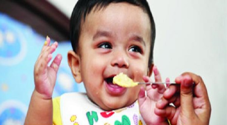 ১ বছর বা তার বেশি বয়সি বাচ্চার খাদ্যতালিকা