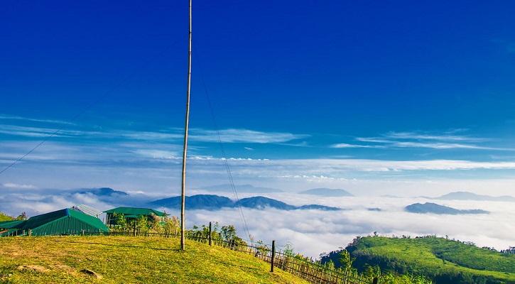 বাংলাদেশের তৃতীয় সর্বোচ্চ পর্বতশৃঙ্গ কেওক্রাডং