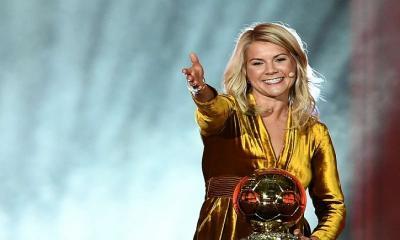 ব্যালন ডি'অর-জয়ী প্রথম নারী ফুটবলার আডা হেগেরবার্গ